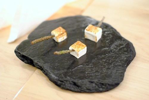 Bruleed marshmallow w/ infused douglas fir