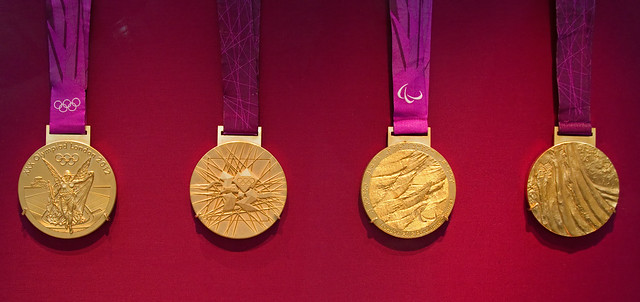London 2012 Gold Medals