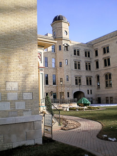 Tower wing of Kemper Center