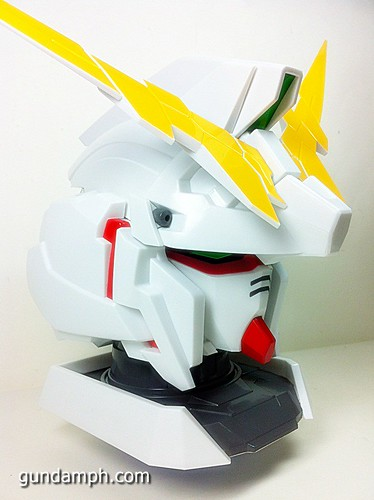 Banpresto Gundam Unicorn Head Display  Unboxing  Review (27)