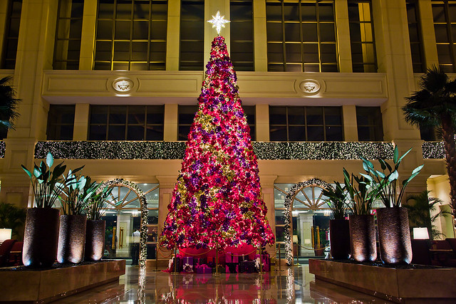 Manila Peninsula Christmas Tree