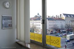 Fensterblick auf Kreuzberg