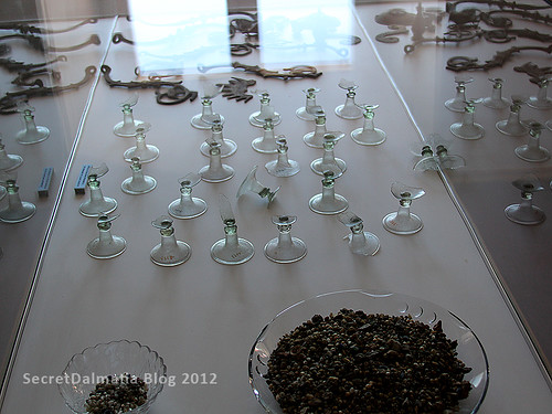 Remains of glasses
