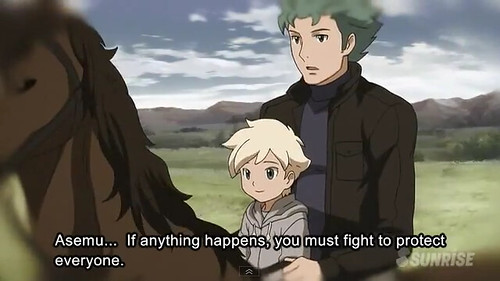 Gundam AGE Episode 16 The Gundam in the Stable Youtube Gundam PH (24)
