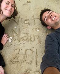Emily + Chris in Vietnam 2011