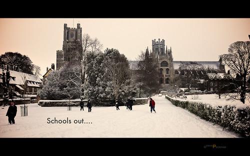 Schools out by Simon Peckham