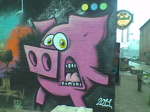 Graffiti @ Area51 (Skatepark), Eindhoven