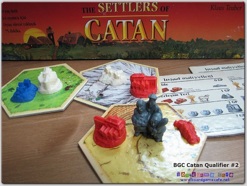 BGC Settlers of Catan 2011 - Qualifier #2