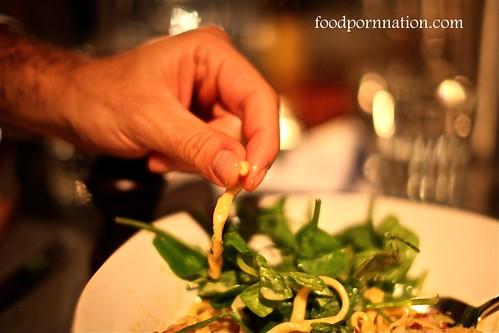 Bucatini uncooked @ Jaime's Italian Sydney