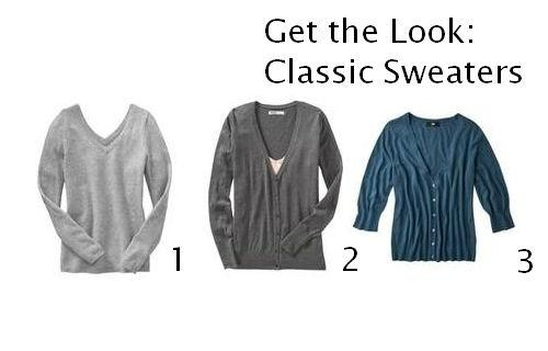 Classic Sweater looks