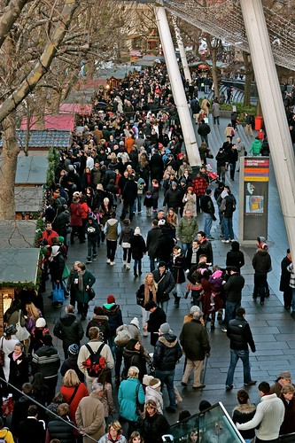 Christmas Market Crowds