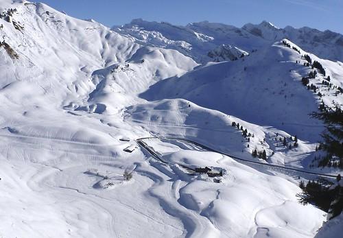 Col de Joux Plane summit