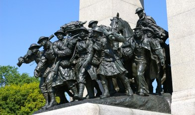 Image result for pic of national war memorial