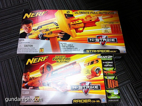 NERF Sale 50% Off Stampede Raider Recon Unboxing Review (52)