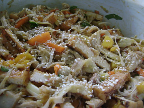 Jackfruit & Tofu salad