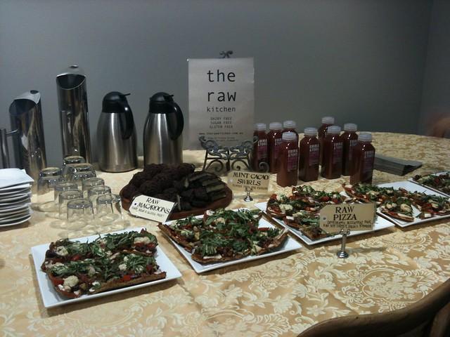 The Raw Kitchen spread