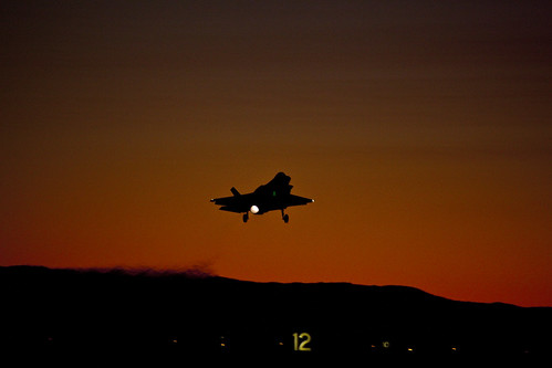 Image result for syria strike f35 at night