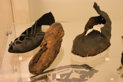Roman and Celtic leather shoes