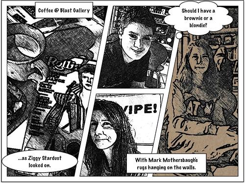 Coffee @ Blast Gallery