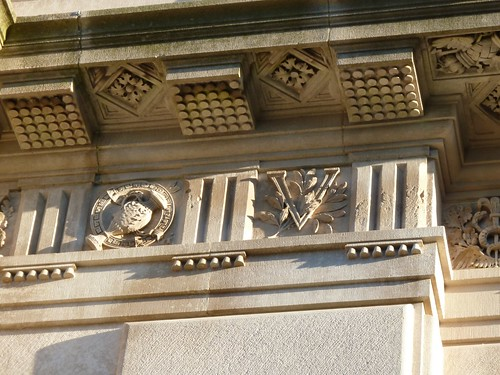 Detail - Over front entrance
