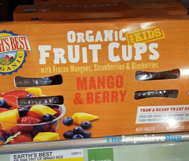 Earth's Best for Kids Mango & Berry Organic Fruit Cups