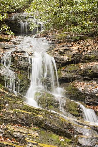 Becky Branch Falls, Rabun County, Georgia