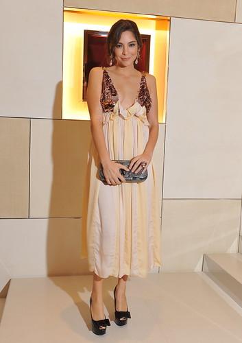 Amanda Griffin in Louis Vuitton
