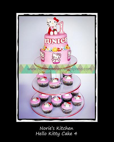 Norie's Kitchen - Hello Kitty Cake 4 by Norie's Kitchen