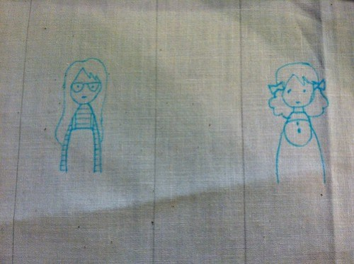 dec 2011: stitching in process