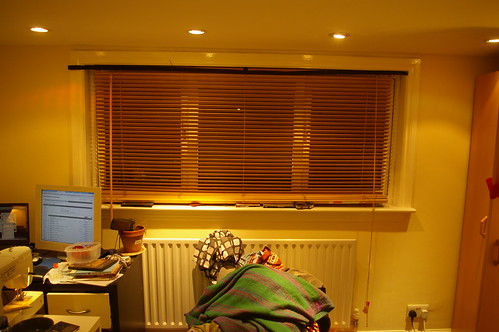 With blinds