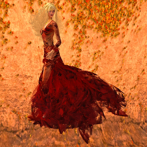 The Autumn Leaves of Red & Gold