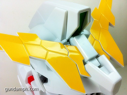 Banpresto Gundam Unicorn Head Display  Unboxing  Review (28)