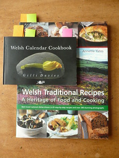 Welsh cookbooks