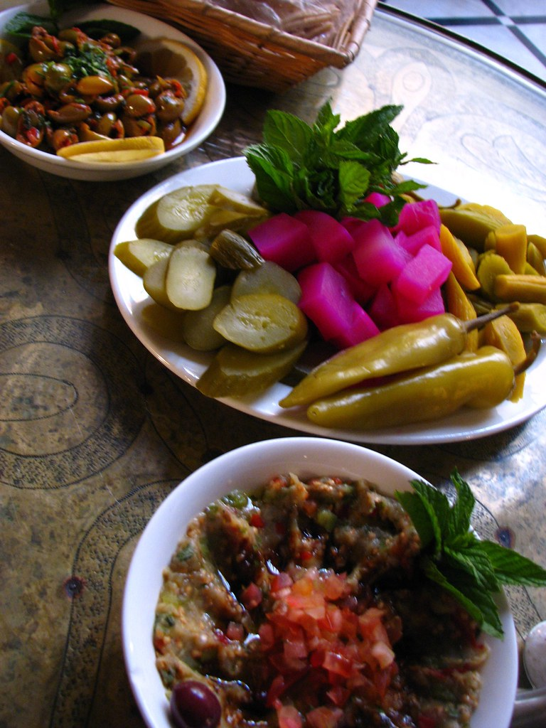 Mezes in Damascus