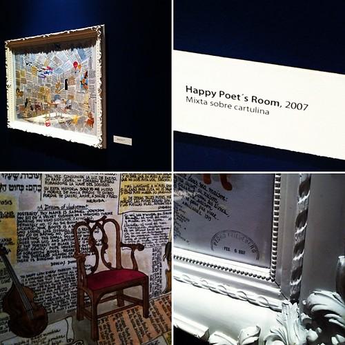Happy Poet Room. Pedro Friedeberg. Museo de Arte de Sonora, permanece hasta Abril. Uno de las piezas que más me gustó. by Erika Tamaura