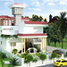 3D Exterior Architectural Rendering of Bungalow