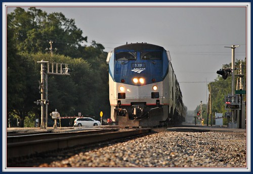 Picayune: Amtrak Crescent by Loco Steve