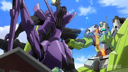 Gundam AGE Episode 16 The Gundam in the Stable Youtube Gundam PH (16)