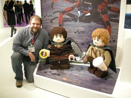 Nuremberg Toy Fair Lord Of The Rings Lego Display