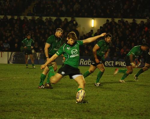 Niall O'Connor penalty kick