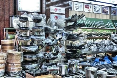 cookware, Doguya-suji, Namba, Osaka