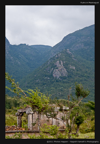 Ruins in Masinagudi