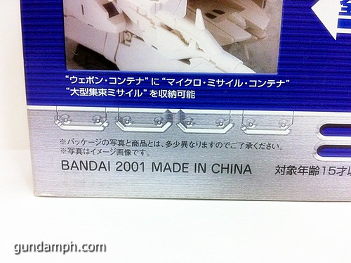 MSIA Dendrobium RX-78GP03 Gundam Figure Rare 2001 (4)