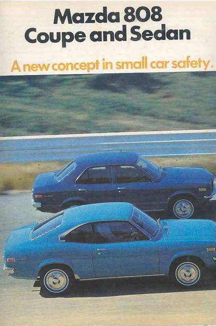 1972 Mazda 808 Brochure 1
