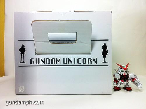Banpresto Gundam Unicorn Head Display  Unboxing  Review (5)