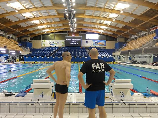 Pál and Jón survey the Szczecin 2011 competition pool