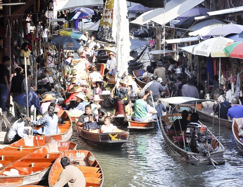 Floating market - Bangkok (23 of 66)