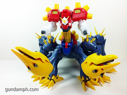 MSIA Devil Gundam First Form Unboxing Review Huge (84)