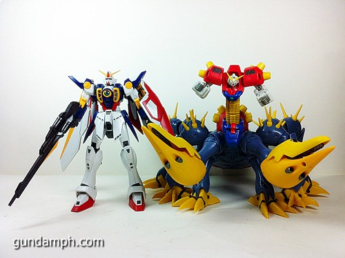 MSIA Devil Gundam First Form Unboxing Review Huge (88)
