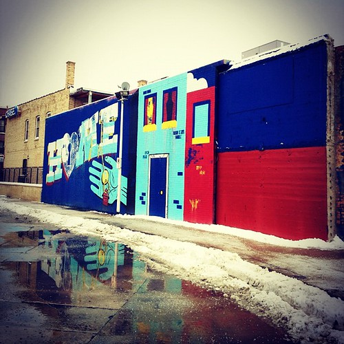 #streetart #art #mural #colors #logansquare #neighborhood #igerschicago #chicago #city